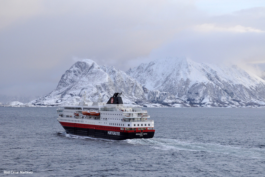 Hurtigruten Winter